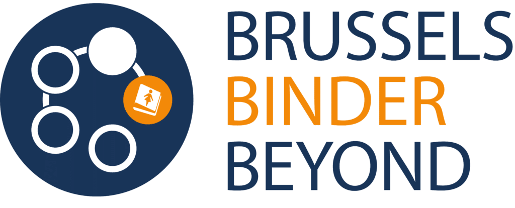 Logo of the Brussels Binder Beyond (networked dots)